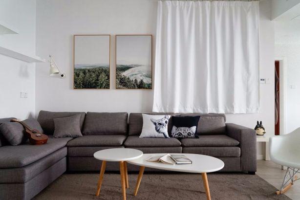 个性客厅北欧装修效果图