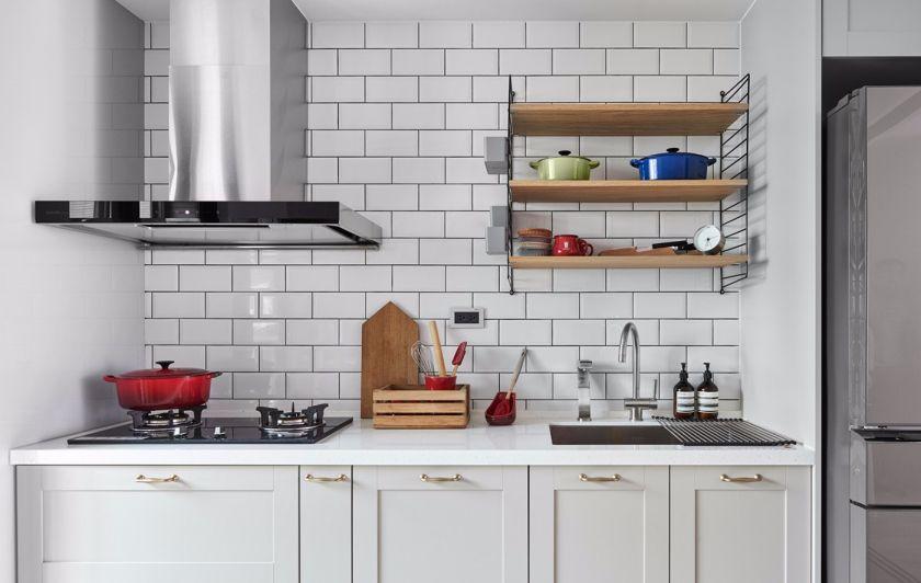 清新厨房橱柜装修美图