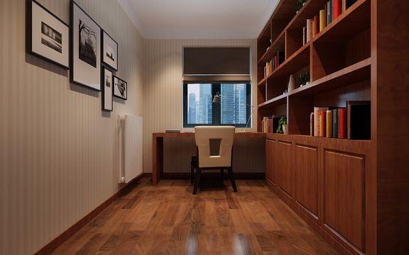 2019现代简约书房装修设计 2019现代简约照片墙装修效果图大全