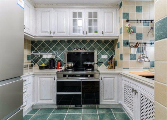 文艺厨房橱柜装修