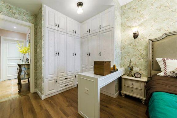 朴素温馨卧室美式效果图图片