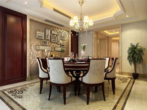餐厅照片墙新古典风格装饰效果图