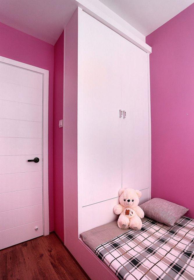 儿童房榻榻米北欧风格装潢图片