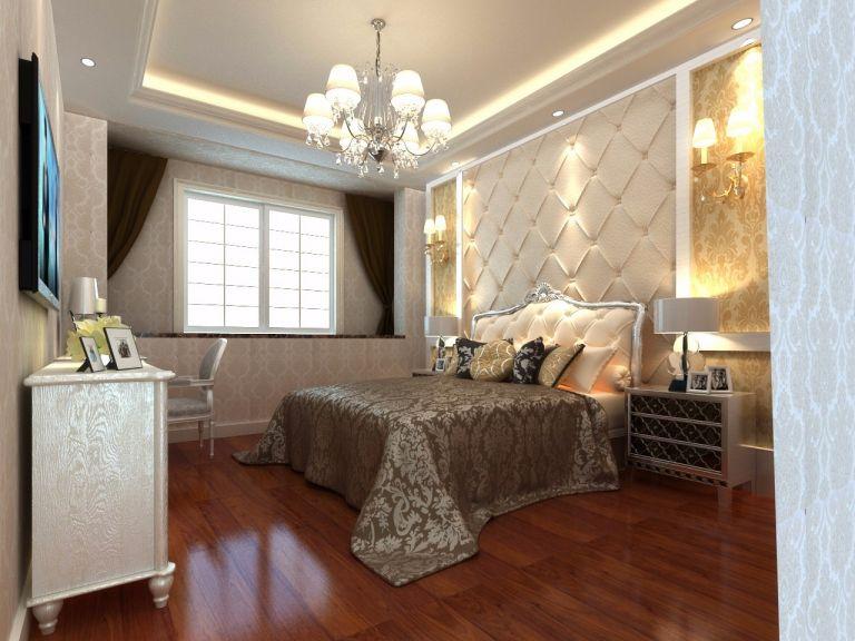 简欧风格120平米三室通厅新房装修效果图