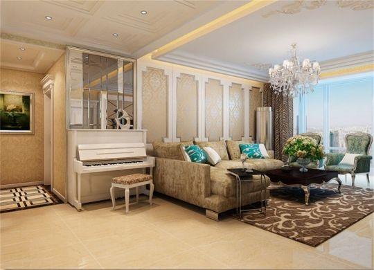 舒适客厅设计方案