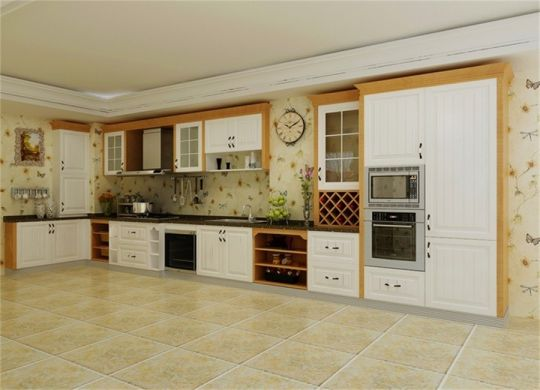 优雅厨房橱柜案例图片