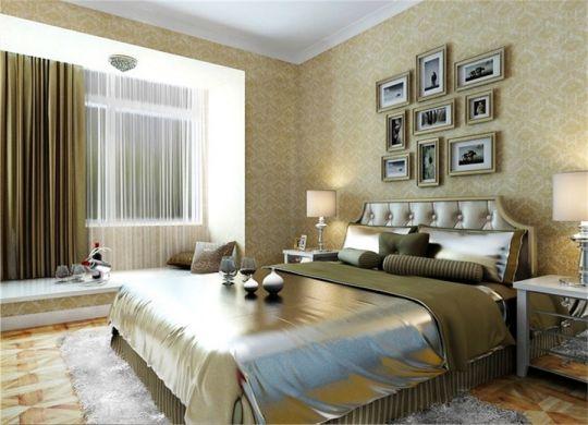 高贵风雅卧室新古典室内装修图片