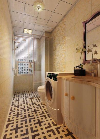卫生间洗漱台新古典室内装修设计