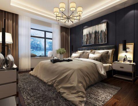 卧室白色现代风格装修图片