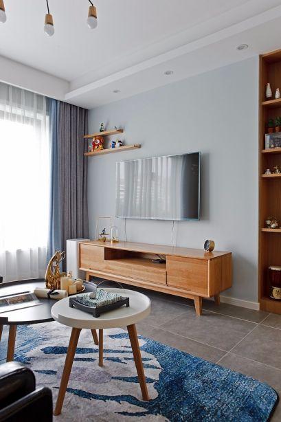 浪漫客厅北欧设计图