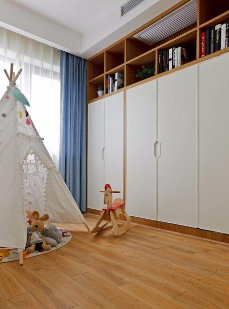 2019北欧儿童房装饰设计 2019北欧窗帘图片