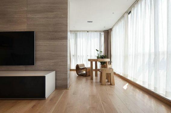 北欧客厅电视柜装修实景图