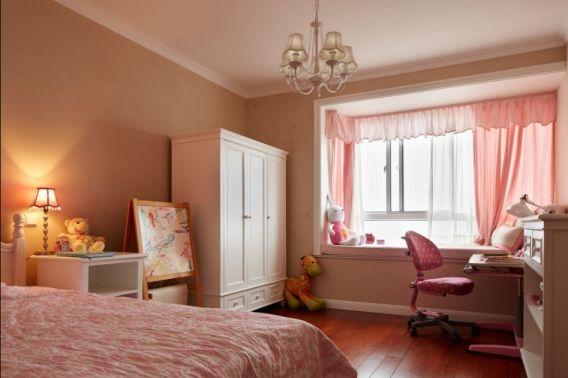 120平米简欧风格三房装修效果图图片