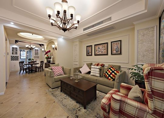潮流客厅茶几装饰设计