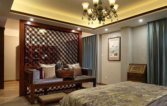 舒适卧室窗帘设计图