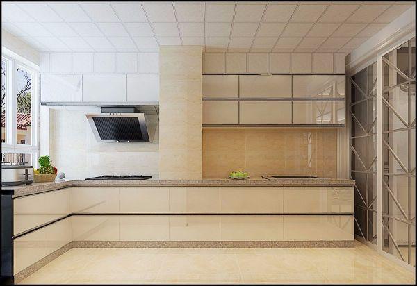 简欧风格厨房装修效果图大全_2018简欧风格厨房装修图片