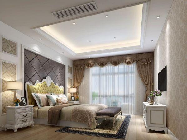 混搭风格150平米四室两厅新房装修效果图