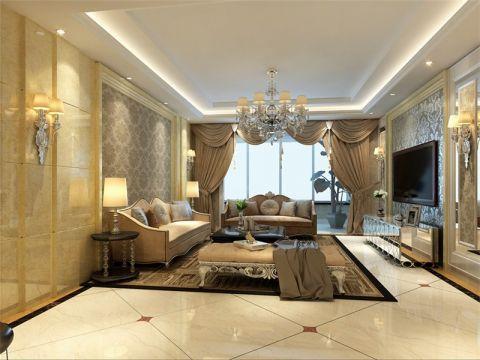 新古典风格160平米四室两厅新房装修效果图