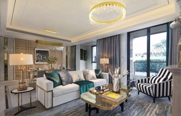 新古典风格245平米别墅室内装修效果图