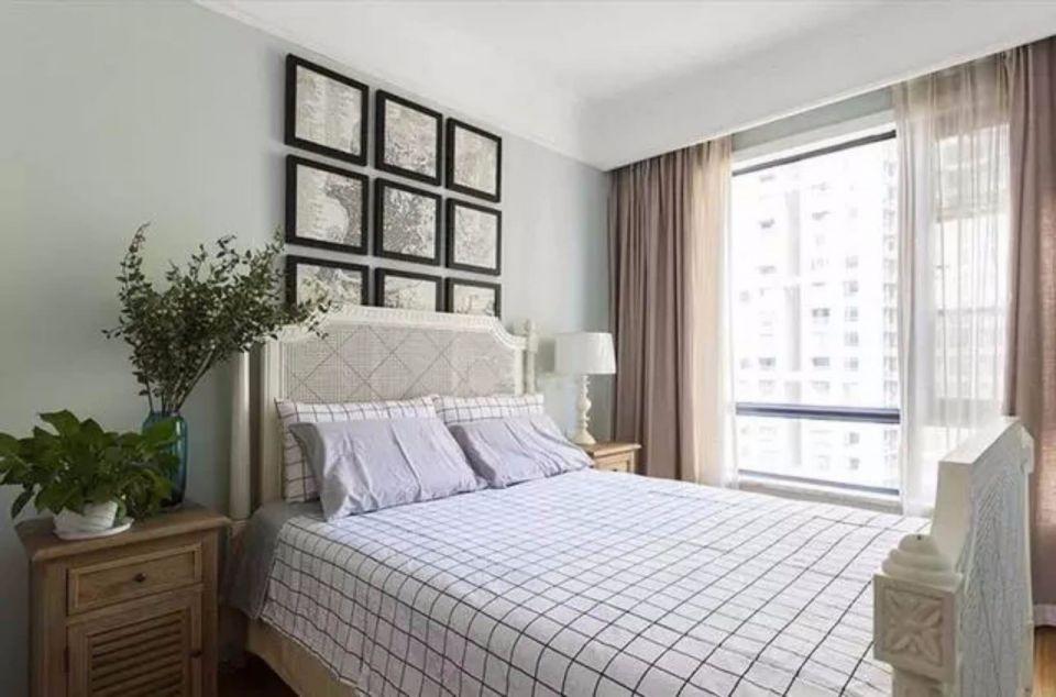 美观大方咖啡色卧室装饰实景图