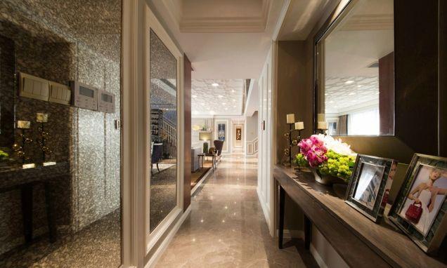 369平米现代四居室装修效果图
