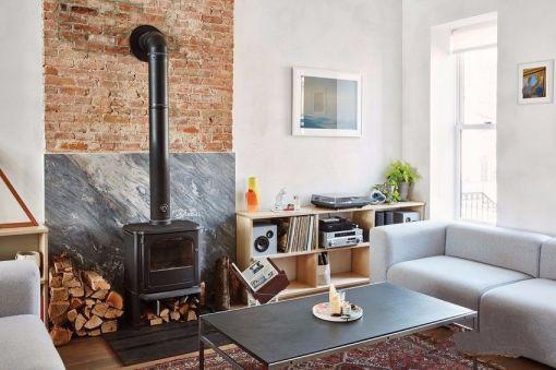 混搭风格92平米两室一厅室内装修效果图