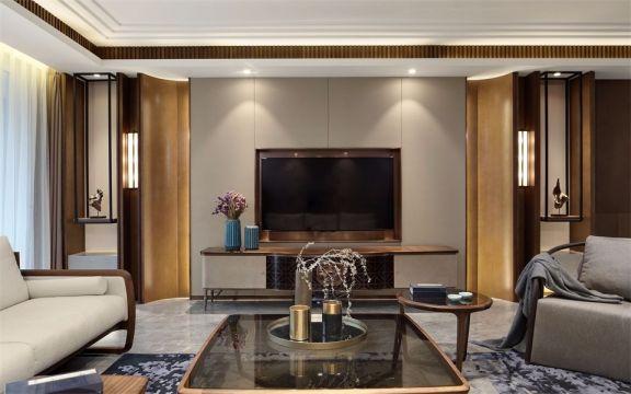 完美客厅窗帘u乐娱乐平台实景图片