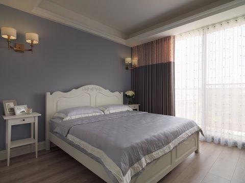 美式风格82平米三室两厅新房装修效果图