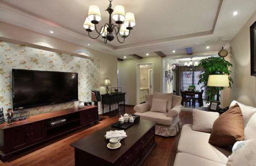 怡景花园 72平 现代风格 二居室 装修效果图