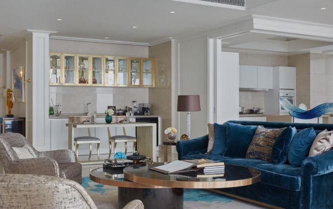 碧桂园210平米地中海风格五居室装修效果图