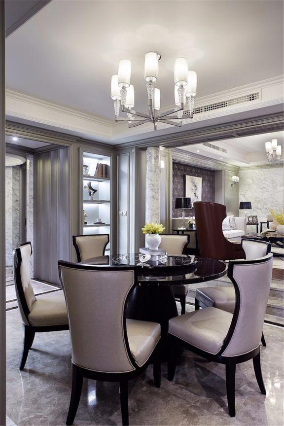 170平新古典风格三房跃层装修案例