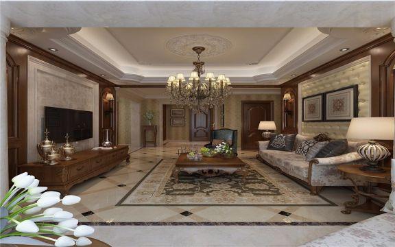 欧式风格260平米大户型新房装修效果图