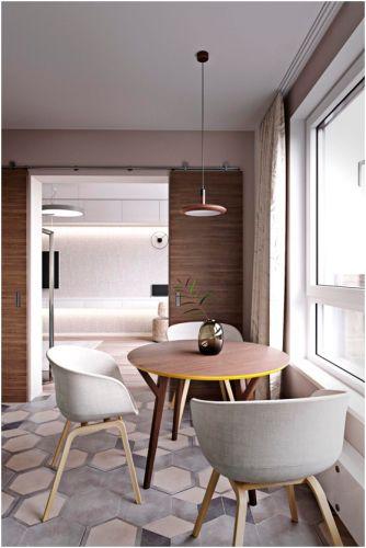 北欧风格58平米一居室新房装修效果图