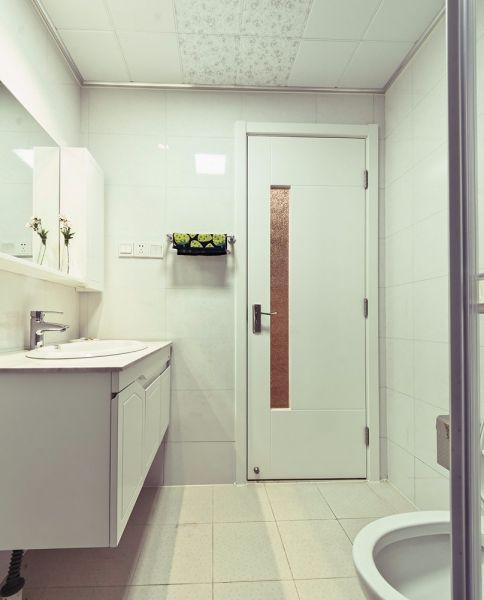 北欧风格91平米两室两厅新房装修效果图