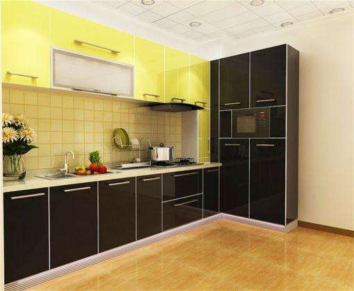 厨房橱柜东南亚风格装潢设计图片