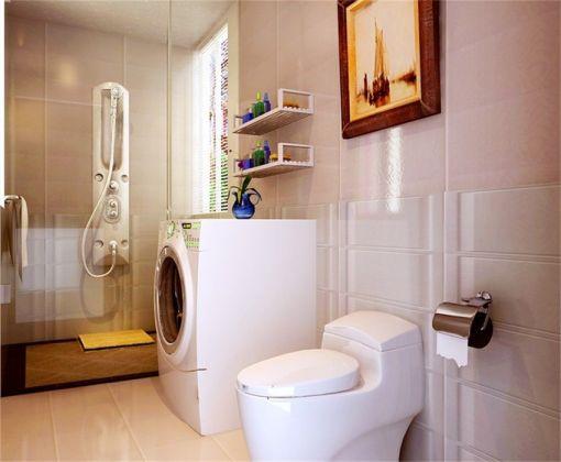 卫生间地砖东南亚风格装饰效果图