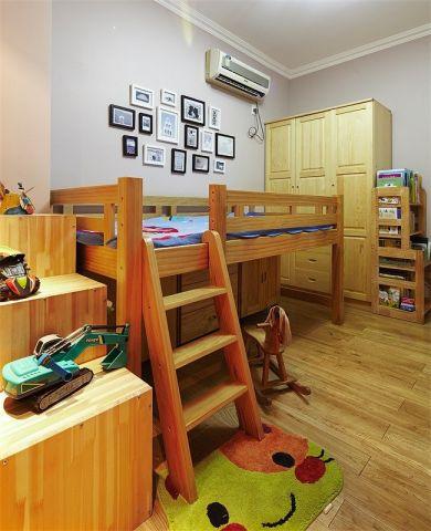 儿童房照片墙美式风格装修效果图
