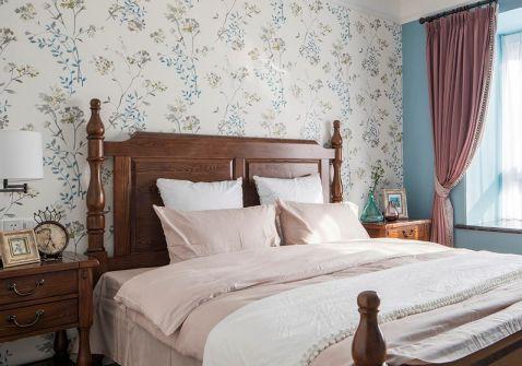 卧室床头柜美式风格装修效果图