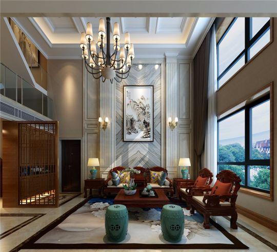 典雅咖啡色客厅设计