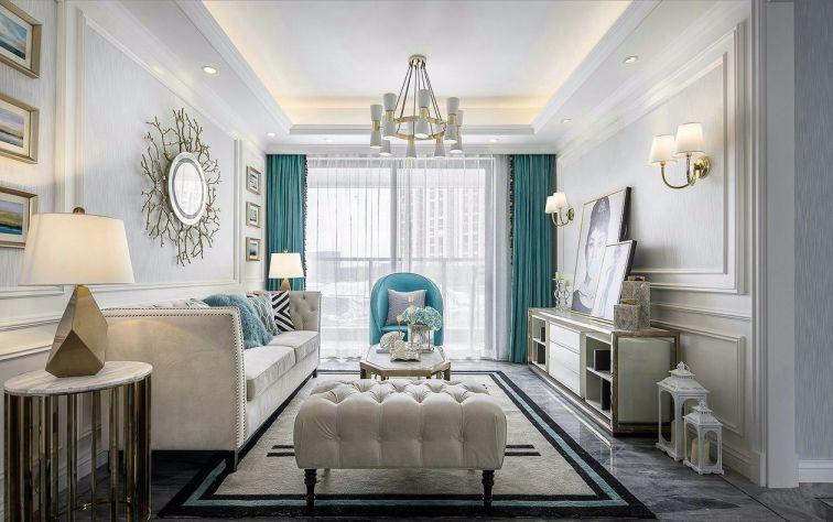 法式风格142平米四室两厅新房装修效果图