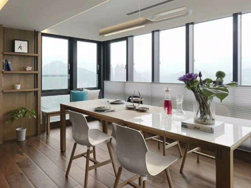 现代简约餐厅地板砖构造图