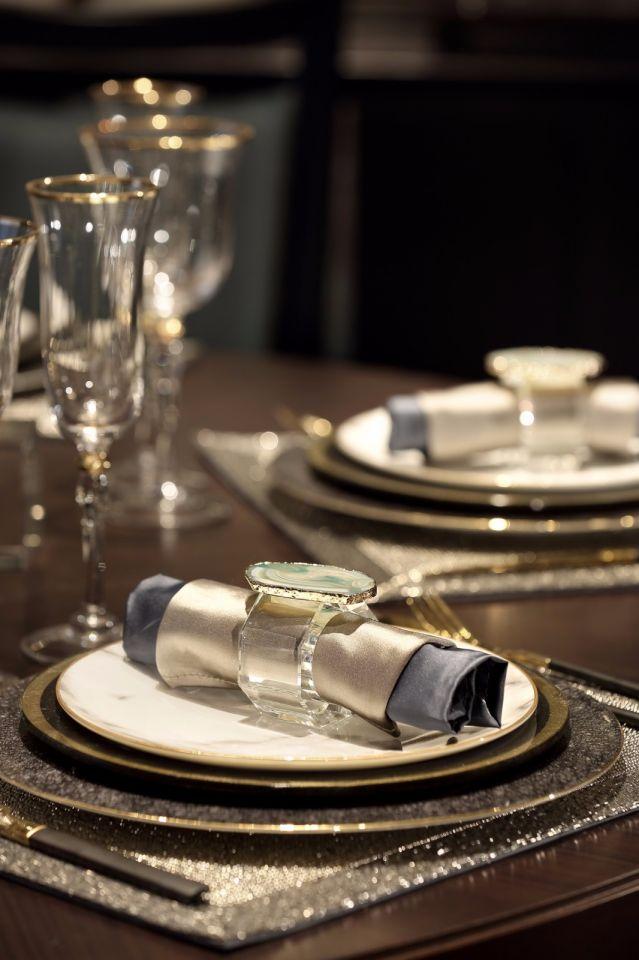 典丽矞皇餐厅新中式装修美图