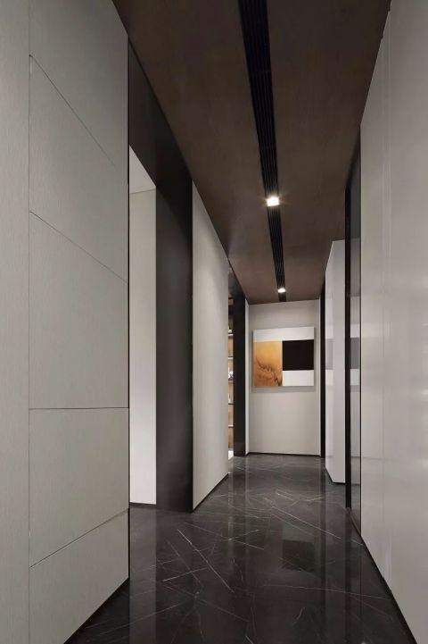典丽矞皇黑色客厅装饰实景图