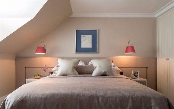 中海御山府137平美式风格三室两厅两卫装修效果图