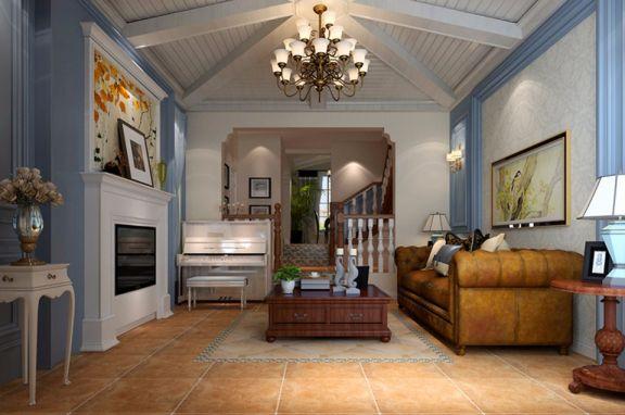 250平地中海风格别墅装修效果图