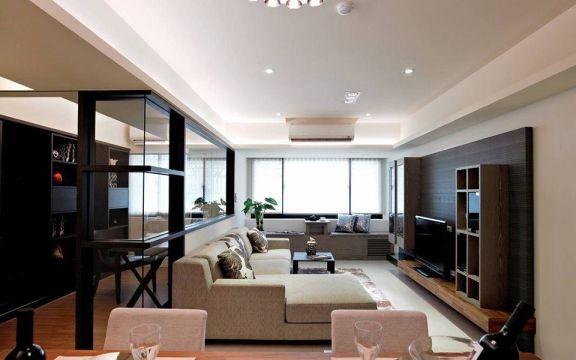 欧式风格90平米套房室内装修效果图