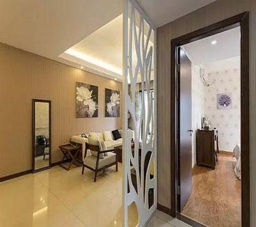 2018现代简约客厅装修设计 2018现代简约隔断装修设计