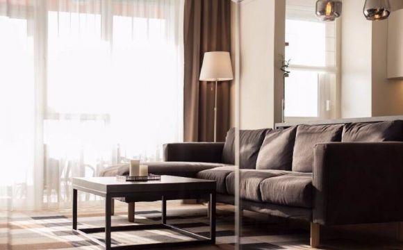 98平米北欧风格两室一厅室内装修效果图