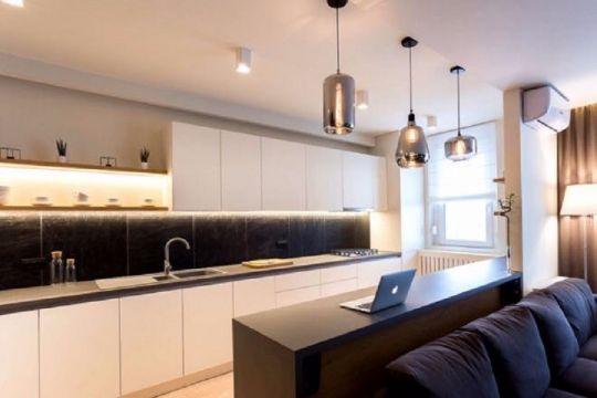 98㎡北欧风格两室一厅室内装修效果图