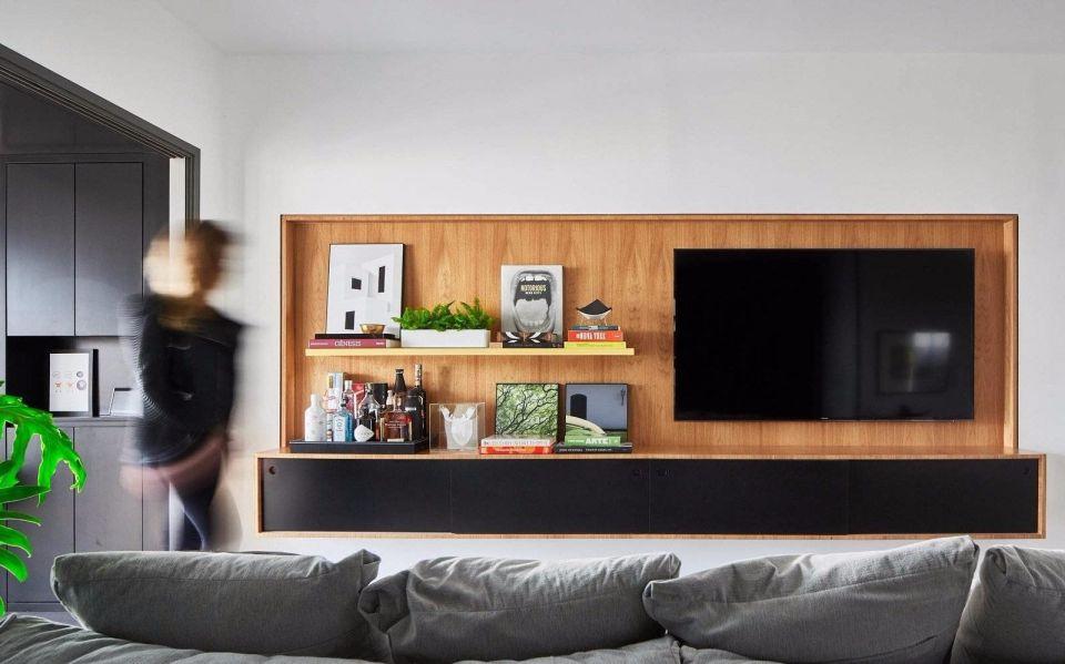 89㎡两室一厅现代风格室内装修效果图